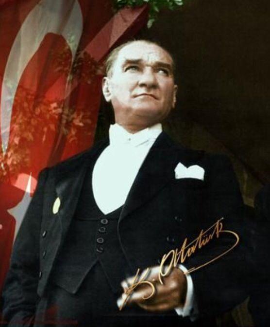 Atatürk...