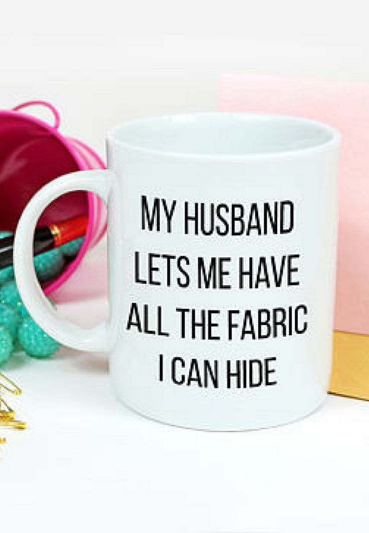 Quote mug for sewers  affiliate link