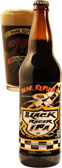 Bear Republic Black Racer 5 IPA. 8.1% alc. I have had Bear Republic Racer 5 IPA which was really good but I didn't find myself enjoying this one. Everyone else I have talked to enjoyed it but the other black style IPA's I have had were much better to me. I'll let you all be the judge on this one. My rate for it would be a 5/10