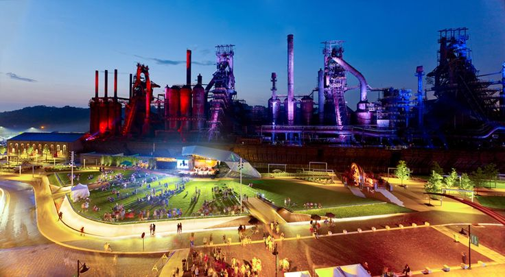 The Levitt Pavilion - SteelStacks Arts and Cultural Campus