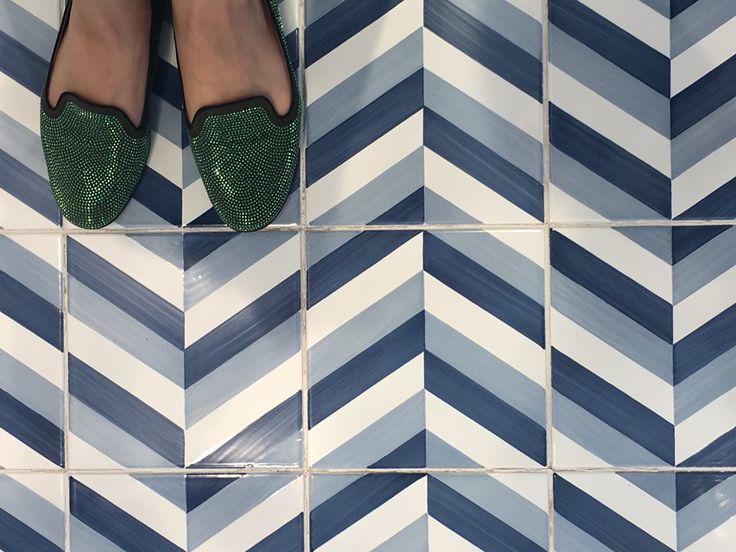 The maestro is back thanks to Francesco de Maio w/ a faithful reproduction of the original #Gio Ponti tiles #cersaie2016 #interiordesign
