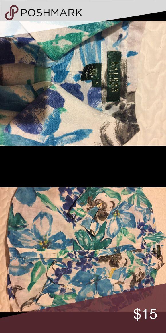 🌟⭐️💥ladies Shirt 👚 long sleeves🌈🌥🔥🔥 In good condition 💯 Liner🌹🌹🌹 Lauren Ralph Lauren Tops Blouses