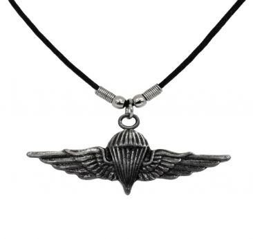 Parachute Badge Necklace
