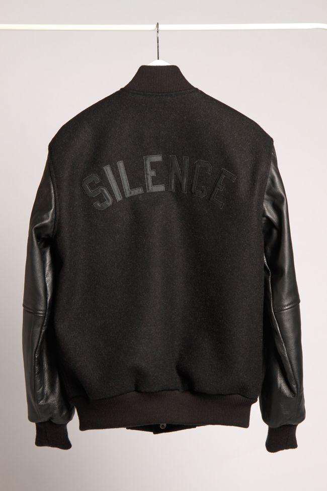 """PLD """"Silence"""" Varsity Jacket PACNW  Street holdingco Fashion Urban Haberdash"""