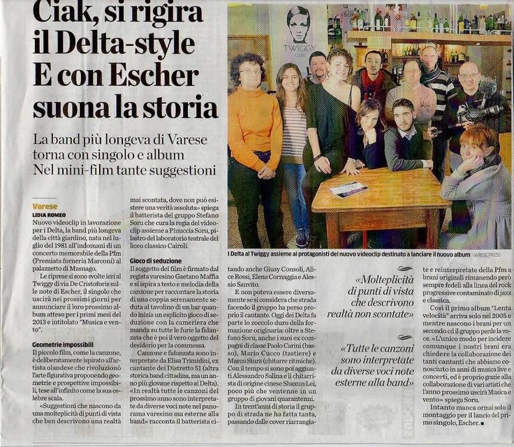 """Sul quotidiano """"La Provincia"""" di Varese"""
