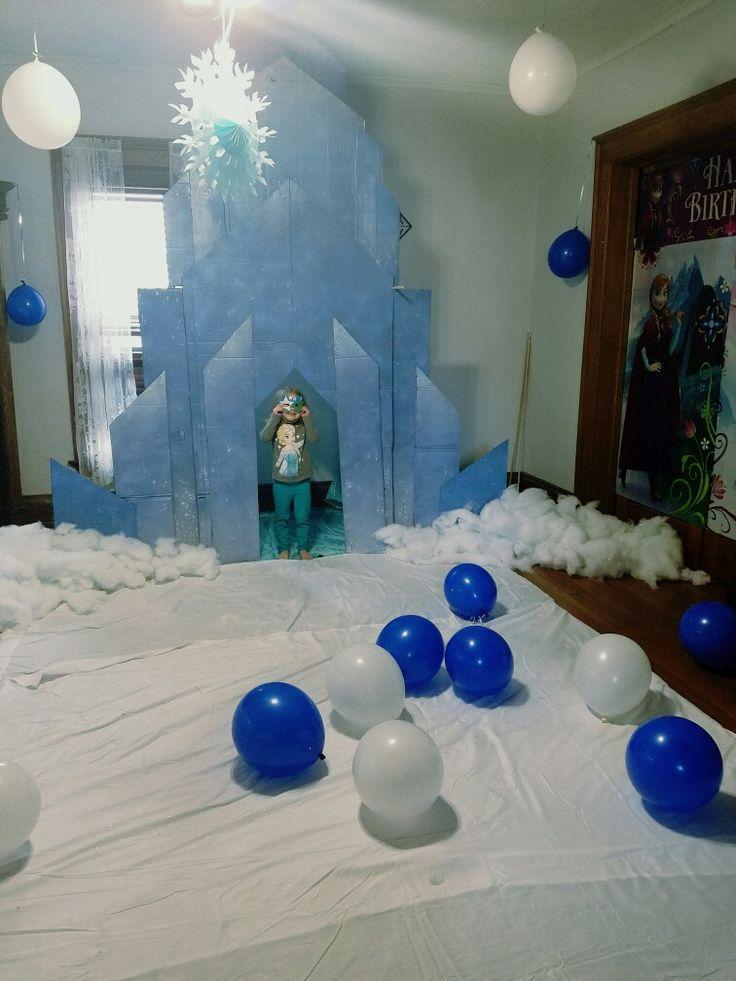 Frozen Castle - How to build a frozen castle