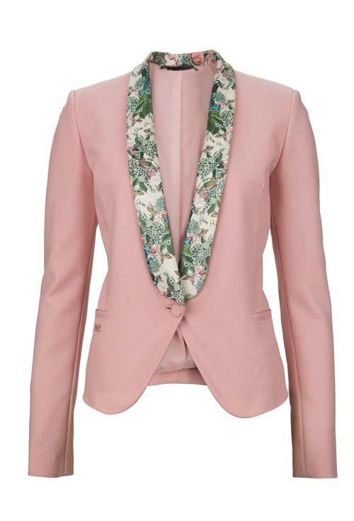 Pink blazer from #PhilippPlein