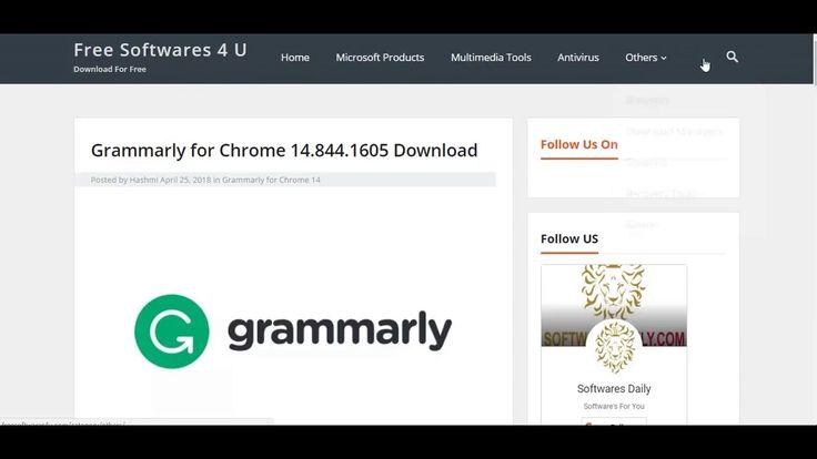 Grammarly for Chrome Malwarebytes, Grammar, Malware