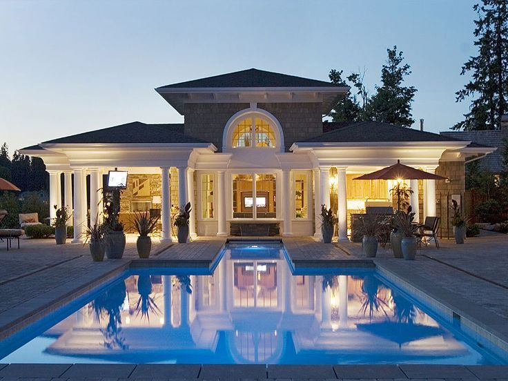 51 best Pool House Plans images on Pinterest