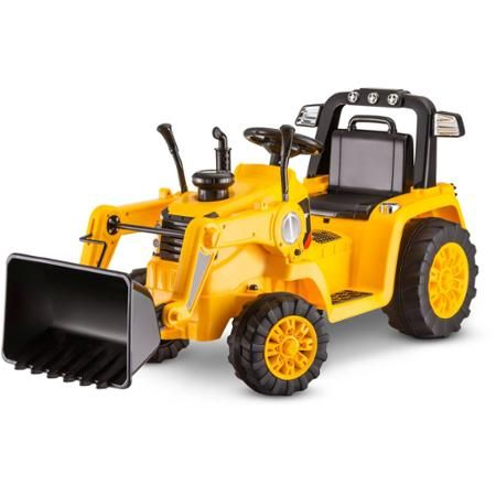 Kidtrax CAT Bulldozer/Tractor 6V Battery Powered Ride-On, Yellow - Walmart.com