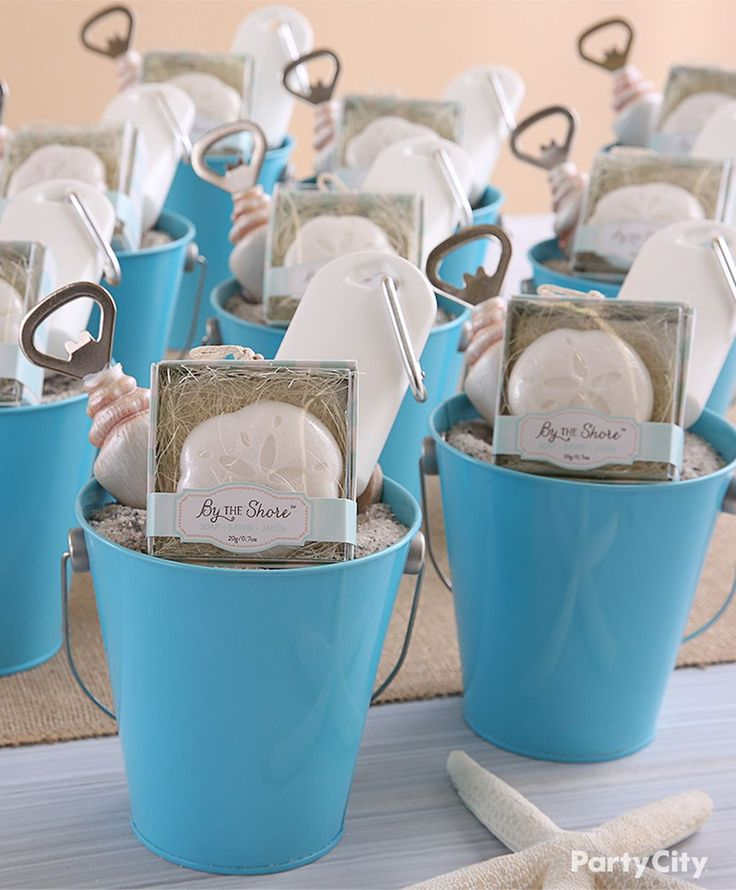 ideas for beach wedding party favors%0A    Inexpensive and Unique Summer Themed Bridal Shower Ideas