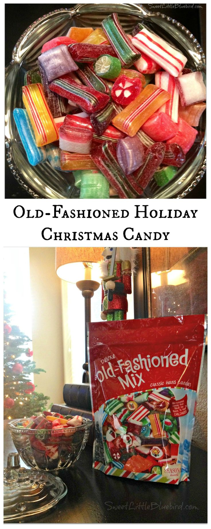 OLD-FASHIONED HOLIDAY CHRISTMAS CANDY - A must-have in the candy dish for our family during the holidays!  Find out where you can find them just in time for Christmas!  BRACH'S brand and more...| SweetLittleBluebird.com