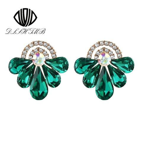 Drop Earrings comes in Beaming Green and Stunning Crystal Style