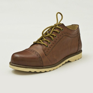 Svoldgaard Brogue Boots Brown, £96, now featured on Fab.