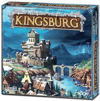 ♥ Kingsburg est un jeu de plateau et de dés pour 2 à 5 joueurs, de 10 ans et…
