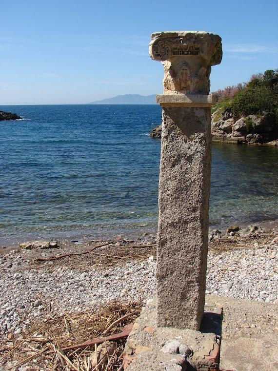 Isola di Giannutri, Italia. Villa Domizia