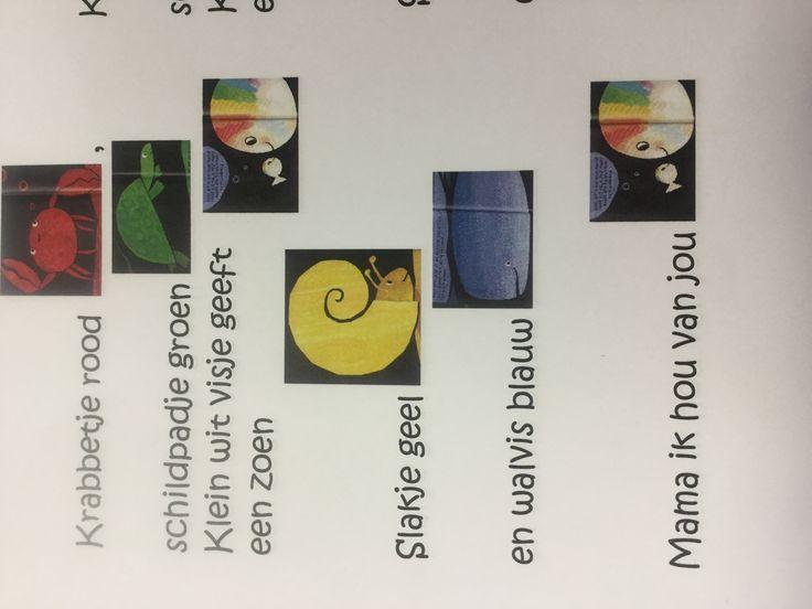 Versje 'Klein wit visje'