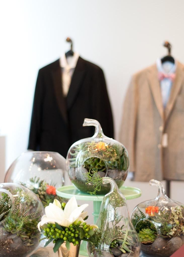 Dresses, Suits & Cocktails A'Plenty / BHLDN Houston Store / suits, Billy Reid  / charcuterie, Revival Market / floral design, Norma Dean Designs / Sarah Snider Photography #bhldnhouston