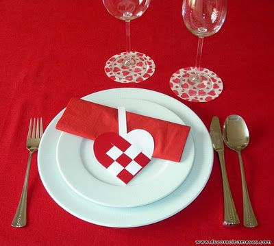 Decoracion de mesas ideas para san valentin valentin for Decoracion san valentin