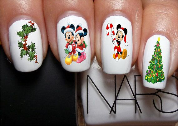 Hey, I found this really awesome Etsy listing at https://www.etsy.com/listing/163612101/mickey-mouse-minnie-mouse-christmas-set