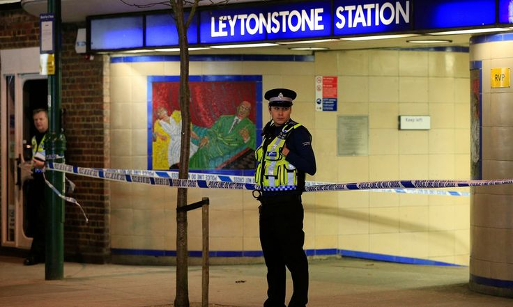 Attacker who reportedly said he was reacting to Syria intervention is arrested after wounding three people at Leytonstone station