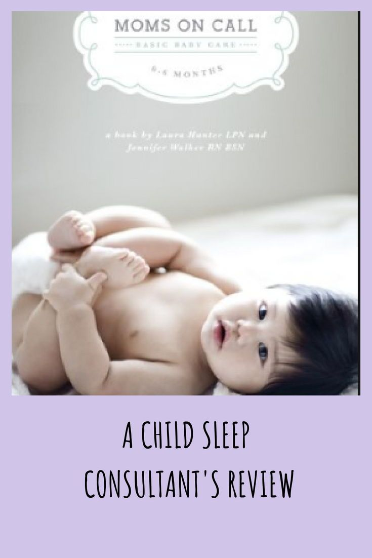 Sleep Book Review 1 Moms On Call Basic Baby Care 0 6 Months Laura