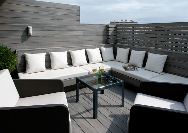 17 best images about decoracion terraza on pinterest - Fotos terrazas aticos ...