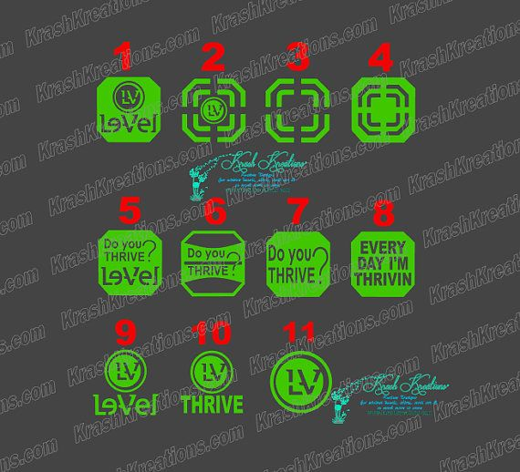 LEVEL thrive dft decals https://www.etsy.com/listing/265566447/thrive-patch-decal-do-you-thrive-level