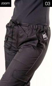 ART.17077  Pantalone Scissors  Ter/Cot. Gab Ter/Cot.