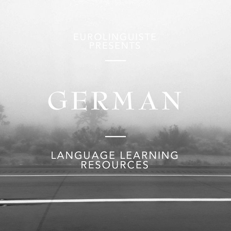 Interested in learning German? Check out our collection of German language learning resources with audio, text, and more.