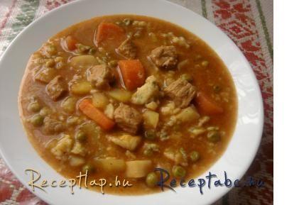 Sertésragu leves