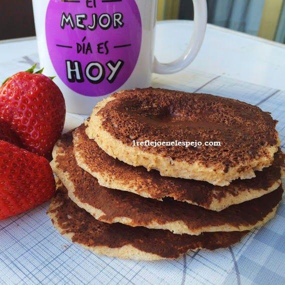 Tortitas al microondas | 1 REFLEJO EN EL ESPEJO + #VIVESANO +