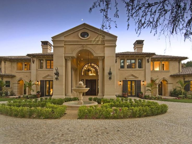 A circular driveway on the outside of my home is a necessity!