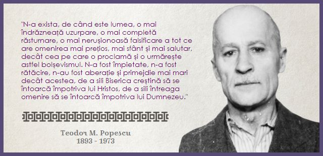 Comunismul a atacat tot ce are omenirea mai sfânt - Teodor M. Popescu  http://citateortodoxe.ro/autor/teodor-popescu/comunismul-atacat-omenirea-mai-sfant-640