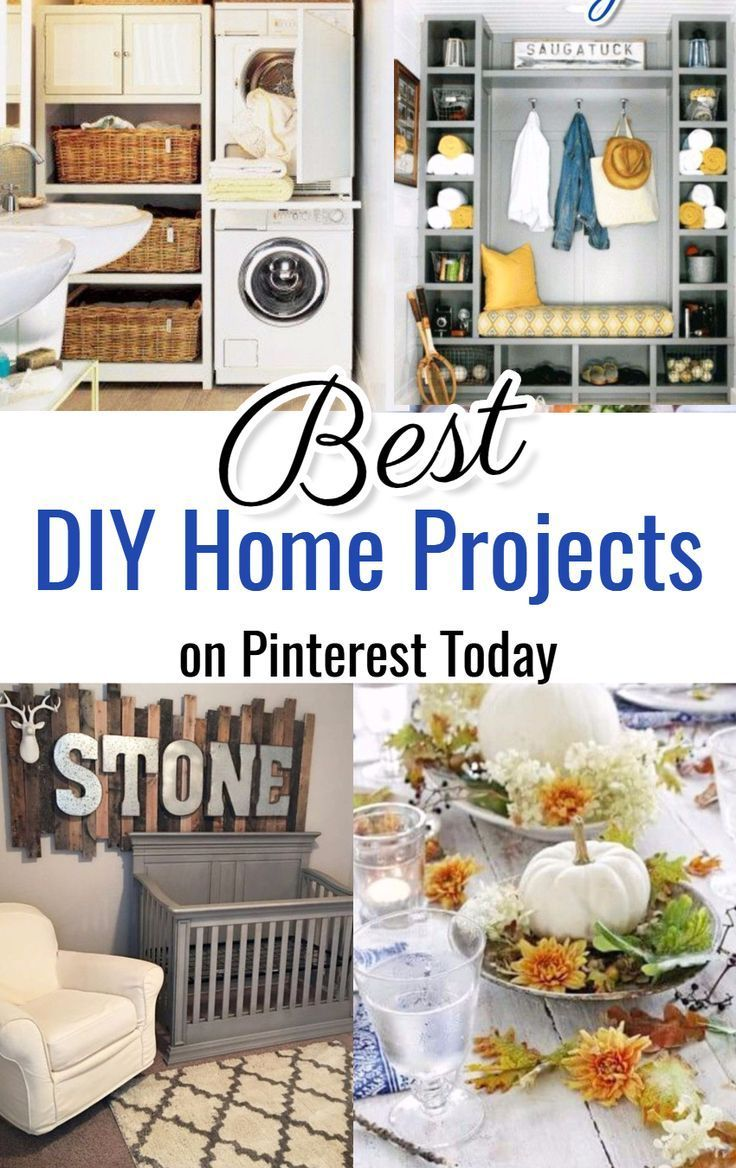Pinterest Diy Home Projects To Try
