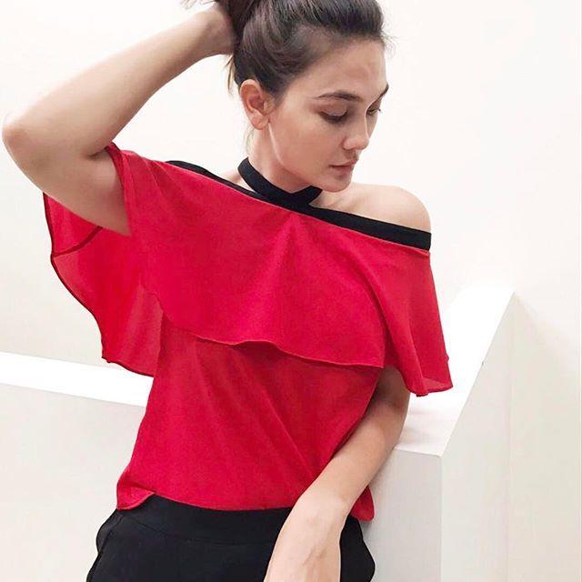 @lunamaya Lady in Red is wearing @lunahabit
