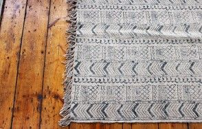 Eni Block Print Rug in Black  Available on http://www.waringsathome.co.uk/for-the-home/rugs.html?limit=all