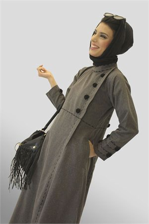 Work Abaya #gray Modest Clothing