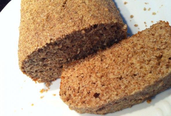 Melhor pão Dukan - pão de aveia, farelo de trigo, leite em pó e ovos