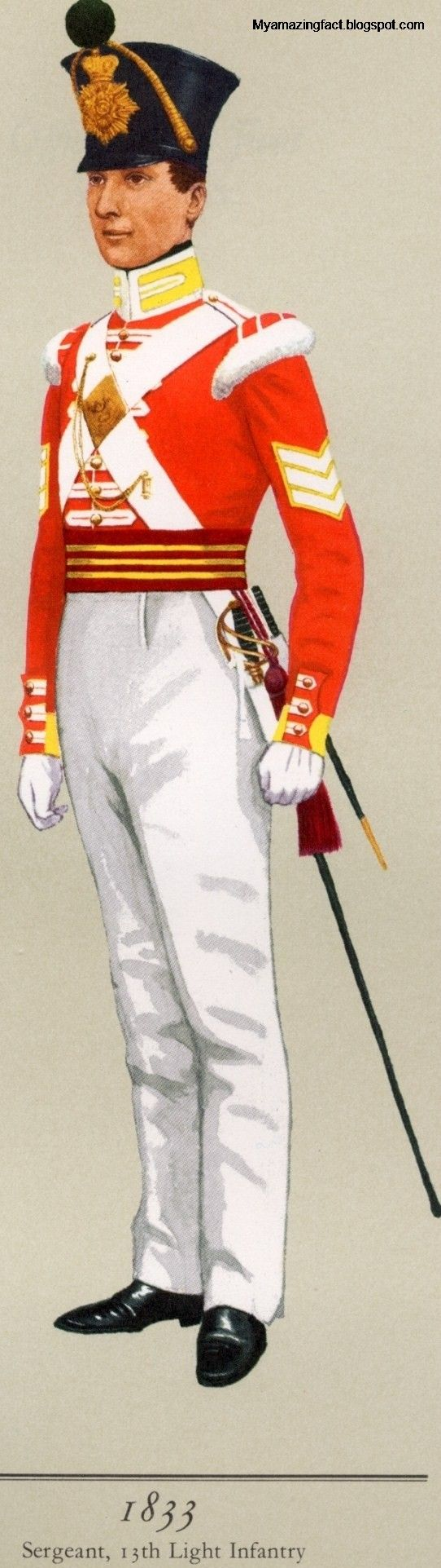 sport life: Infantry Uniforms of the British Army 1790-1846
