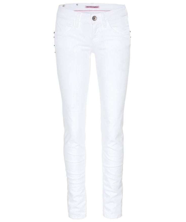 Fornarina Jeans Blanca Up  #white  #jeans  www.fashion.engelhorn.de