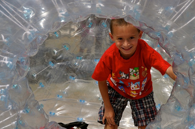 Play in a bubble at The YMCA Children's Village at Kempenfest