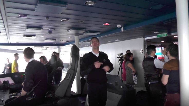 Quantum Of The Seas: 1 - our mind-blowing bridge tour of this new $1 bil...