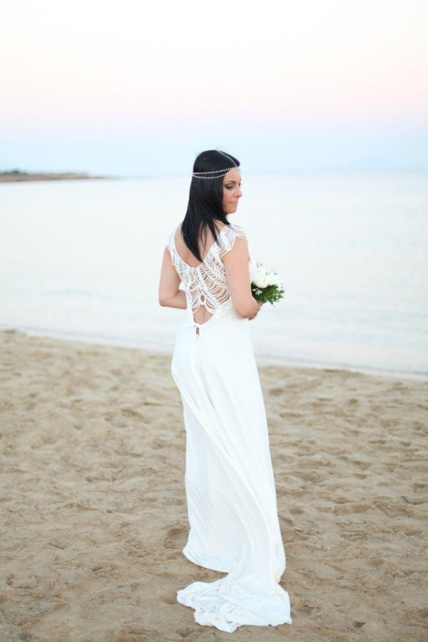 Chic μποεμ γαμος στην παραλια | Βικυ & Γιαννης  See more on Love4Weddings  http://www.love4weddings.gr/chic-boem-beach-wedding/  Photography by White Frame   http://whiteframe.gr/ #HelenaKyritsi