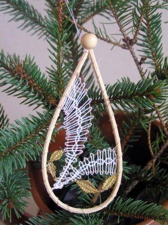 Paličkované vánoční ozdoby