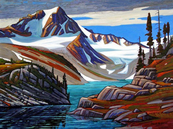 """Mount Tatlow,"" by Nicholas Bott - 30x40"