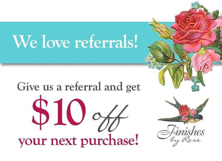Refer a friend to Finishes By Rose and we'll email you a $10 coupon. We appreciate the word-of-mouth advertising our customers give us.  #finishesbyrose #referralcoupon #vintage #upcycle #antiques #milkpaintutah