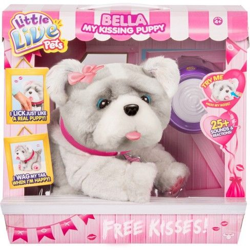 Little Live Pets Bella My Kissing Puppy Target Little Live Pets Dogs And Puppies Puppies
