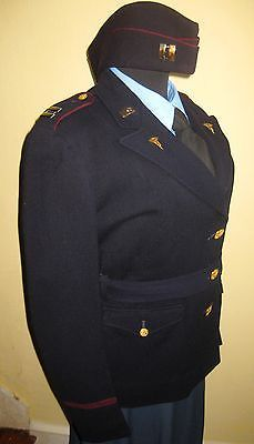 RARE Women's WWII US Army Nurse ANC Early Blue COMPLETE UNIFORM-Jacket Skirt Hat