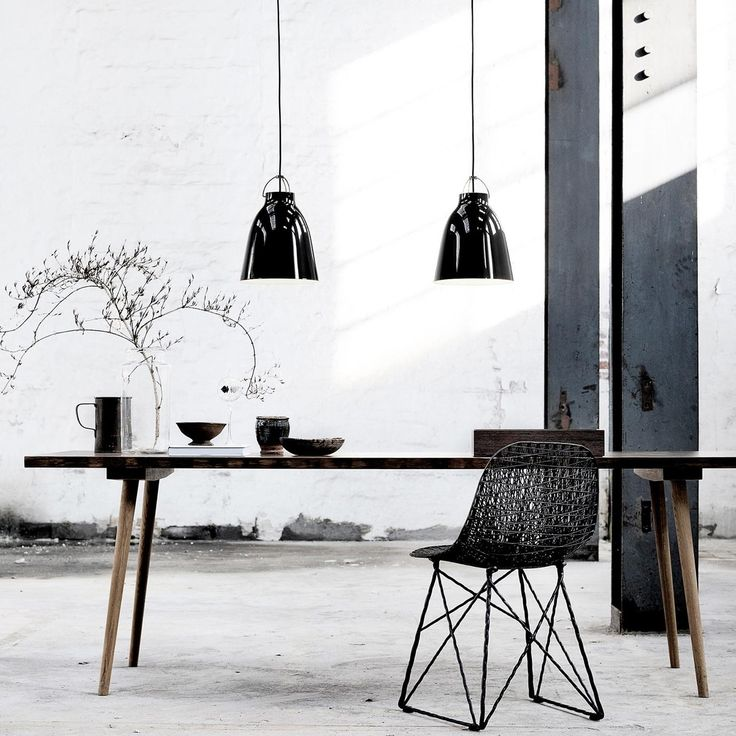 Lightyears - Caravaggio BlackBlack Suspension Lamp